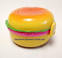 Ланч-бокс Гамбургер (пищевой контейнер)