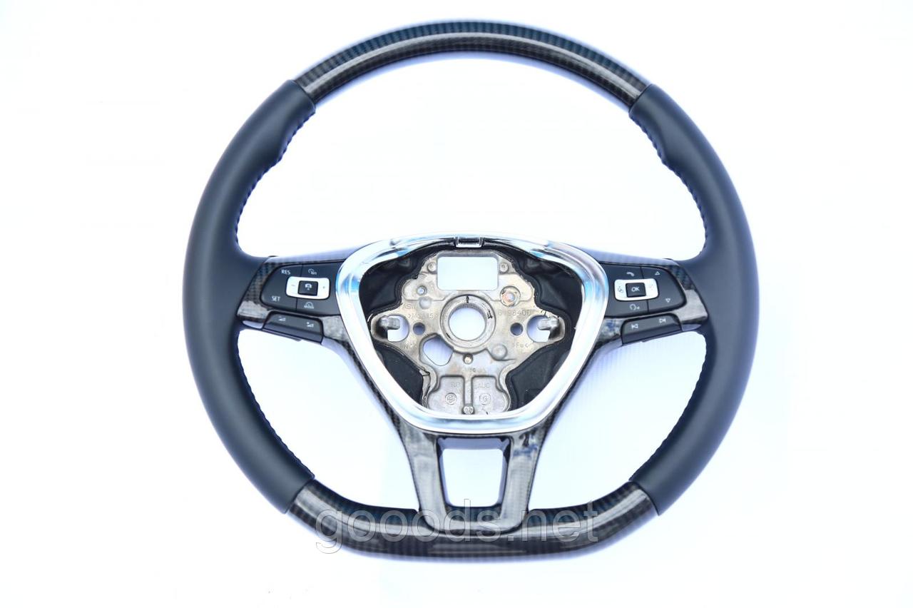 Руль Volkswagen Passat B7 карбоновый