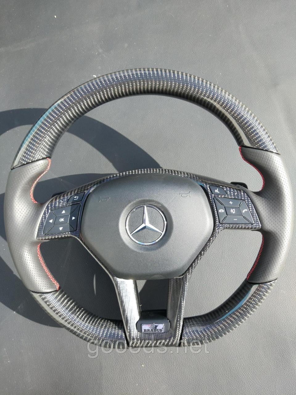Руль карбоновый Brabus на Mercedes Benz CLS Class W218