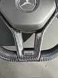 Руль карбоновый Brabus на Mercedes Benz CLS Class W218, фото 3