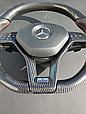 Руль карбоновый Brabus на Mercedes Benz CLS Class W218, фото 5