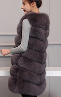 Женская меховая жилетка. Модель 61718, фото 9