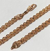 Цепочка+ браслет( набор) мужской Бисмарк длинна 55 см браслет 21 см
