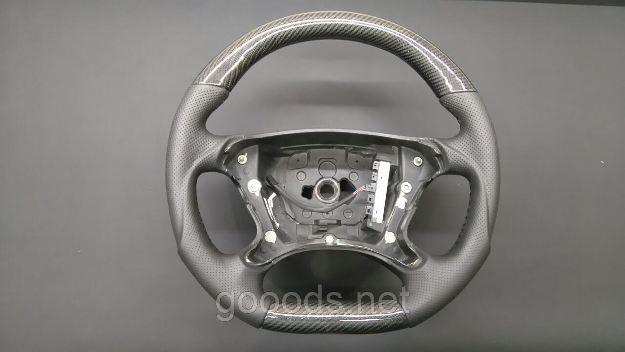 Руль AMG в карбоне на Mercedes CLK-Class W209