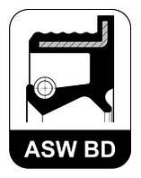 Сальник ступицы 40X52X6.5 AUDI/VW (производитель Elring) 045.772