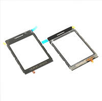 Сенсорная пленка + стекло Samsung P520 black оригинальный
