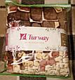 Флісовий плед покривало простирадло Turvey 200*220см., фото 2