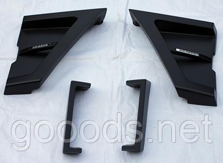 Накладки на крылья передние и задние в стиле Brabus Widestar Mercedes G-class w463