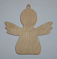 Ангел из фанеры 10х10 см