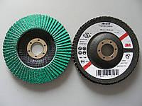 3M™ 577F - Лепестковый круг для углеродистой стали и твердых металлов 125х22 мм, P80, 64857