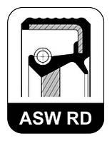 Сальник FRONT AUDI/VW 35X48X10 AEH/AGN/AGR/AFB (производитель Elring) 475.961