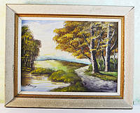 Картина на холсте. Масло. Голландия. Подпись автора.