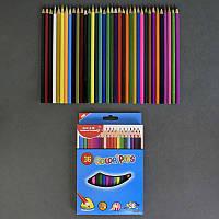 Карандаши цветные 0682 (96) 36шт в упаковке