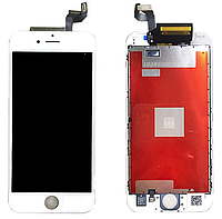 ✅Дисплей iPhone 6s с сенсором (тачскрином) и рамкой, белый, копия
