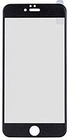 ✅Стекло для iPhone 6S, черное, с рамкой