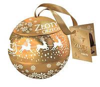 Шоколадные конфеты Zloty Orzech Goplana в елочном шаре с орехом 190 гр, фото 1