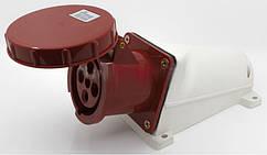 Розетка стацион. наружная 134 63А 380-415В 4 контакта (3P+E) IP67