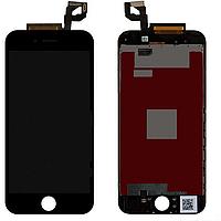 Дисплей iPhone 6s с сенсором (тачскрином) и рамкой, черный, оригинал