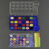 Краски акварельные 01432 (144) 24 цвета, в кульке