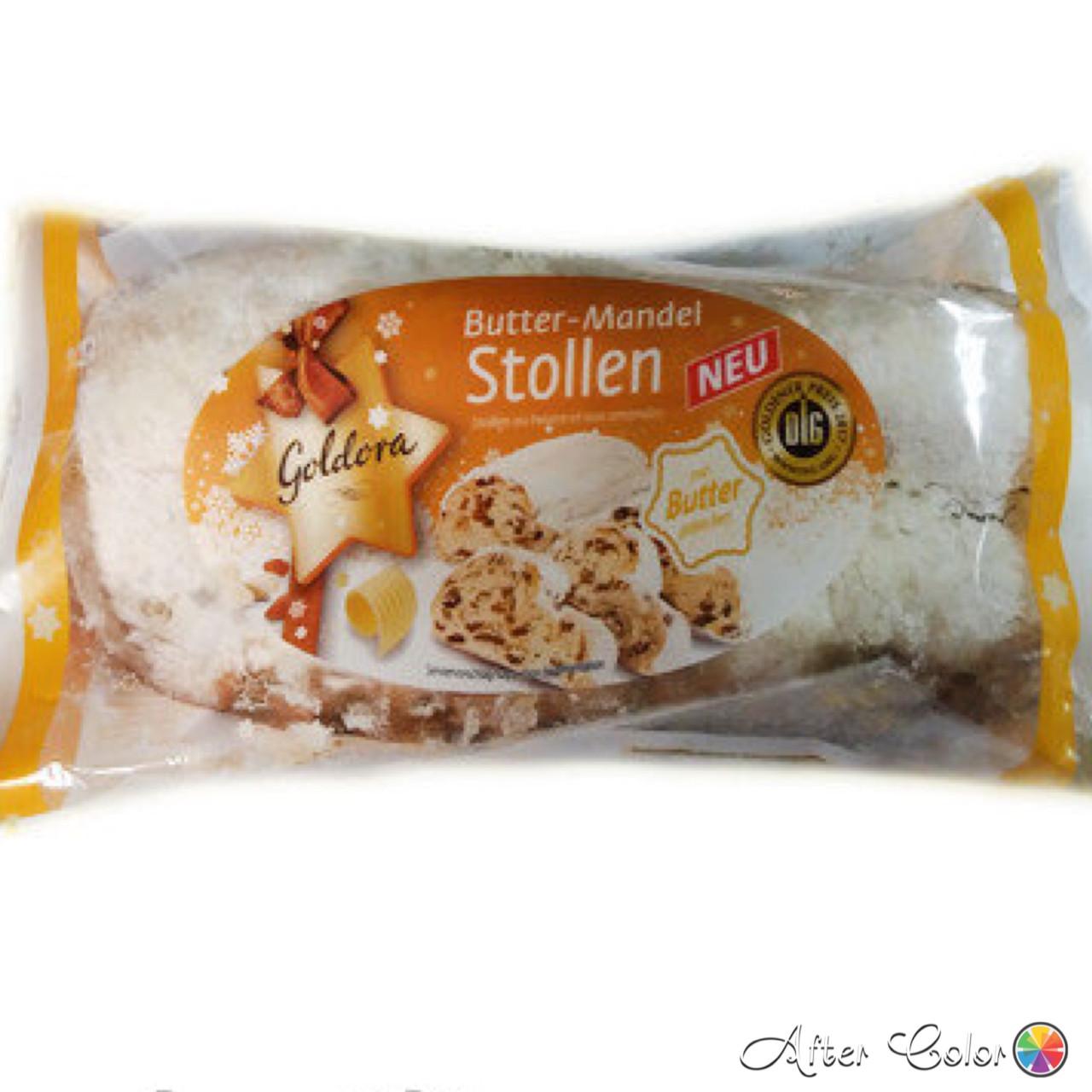 Різдвяний Stollen з Родзинками, 750 грам (Німеччина) «Жовта упаковка»