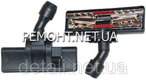 Щетка для пылесоса ковровая универсальная закрытые колеса D32-35 ZX09