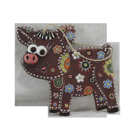 Сувенир керамический «Свинья»