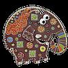 Керамический сувенир «Слон»