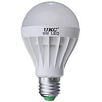 Лампочка LED LAMP E27 9W круглая, светодиодная энергосберегающая
