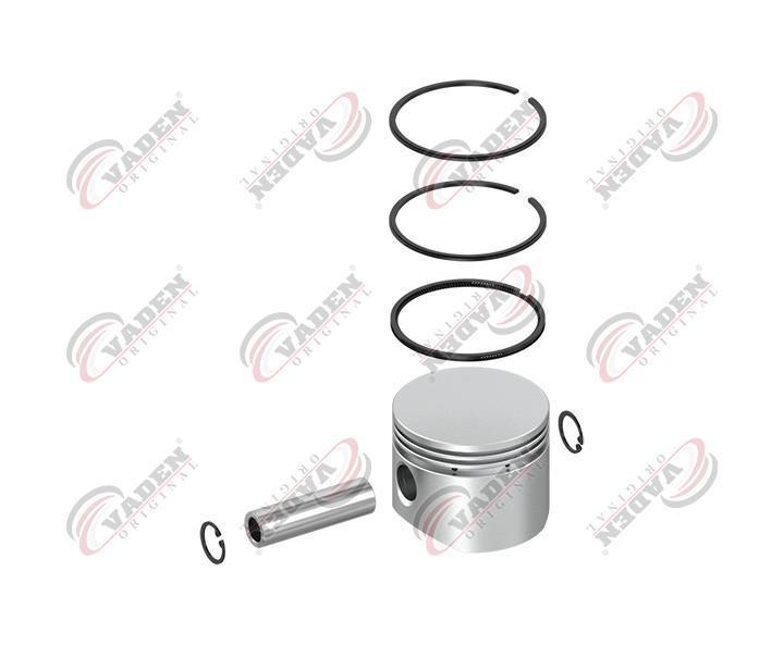 Поршень компресора с кільцями 075,00мм (0,50) (в-во Vaden)