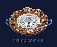Врезной светильник со стеклом Art716149lst