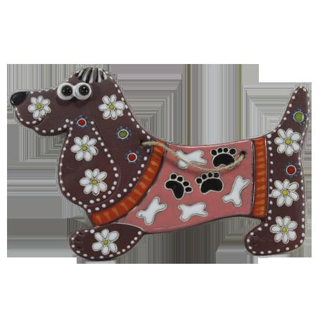 Сувенир керамический «Такса»