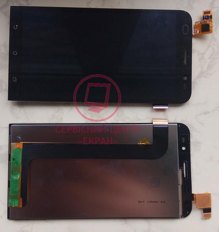 Asus ZenFone Go ZB552KL дисплей в зборі з тачскріном модуль чорний
