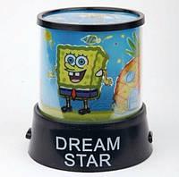 Проектор звездного неба «Sponge Bob»(Губка БОБ).