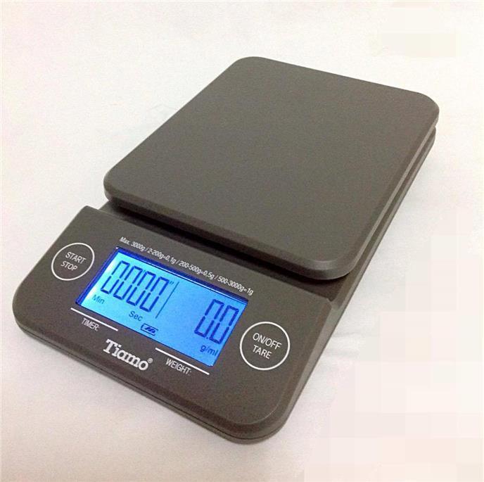 Весы для приготовления кофе Tiamo Scale Timer с таймером