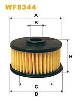 Фильтр топлива газовый оборудование MEDA WF8344/PM999/4 (производитель WIX-Filtron) WF8344