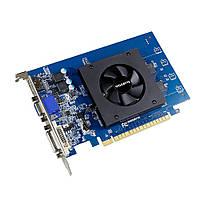 Видеокарта GeForce GT710, Gigabyte, 1Gb DDR5, 64-bit, VGA/DVI/HDMI, 954/5010MHz (GV-N710D5-1GI)