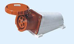 Розетка стационарн. наружная 135 63А 380-415В  5контак. (3P+E+N) IP67