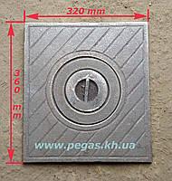 Плита чугунная (320х360 мм), фото 1