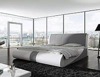 Кровать двуспальная обита PRESTO 180х200