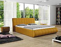 Кровать двуспальная обита Elisse 180х200