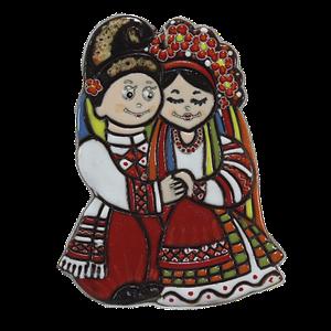 "Сувенир ""Парочка украинцы"""