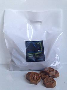 Воск горячий Organic Натуральный в брикетах 1 кг