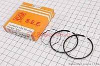 Кольца Yamaha JOG 65 44mm +0,5 желтая коробка SEE