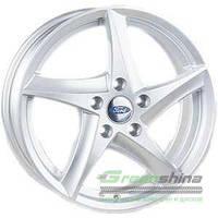 REPLICA Ford JT 1434 Silver R15 W6 PCD5x108 ET52.5 DIA63.4