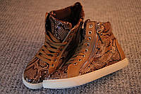 Женские ботинки хайтопы Street Style питон 36 - 40