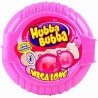 Жевательная резинка Hubba Bubba Fancy Fruit в ленте, 56 г.