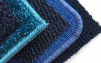 Килими на гумовій основі сині (блакитні)