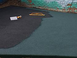 Резиновое покрытие Teking Kids 2S Color для детских площадок, фото 2