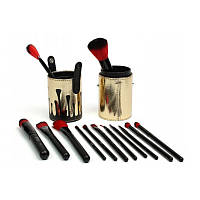 Кисти для макияжа Kylie в тубусе (12 предметов)