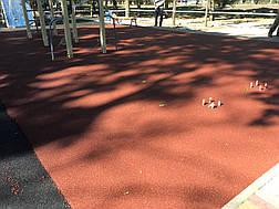 Резиновое покрытие Teking Kids 2S Color для детских площадок, фото 3